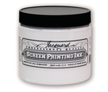 JACQUARD PROFESSIONAL SCREEN PRINTING INK 16OZ WHITE