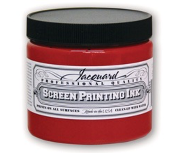 JACQUARD PROFESSIONAL SCREEN PRINTING INK 16OZ RED