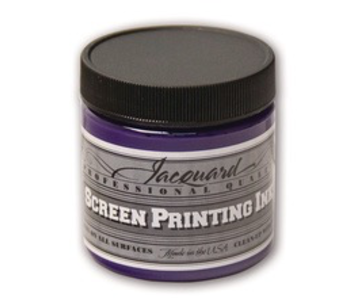 JACQUARD PROFESSIONAL SCREEN PRINTING INK 4OZ OPAQUE VIOLET