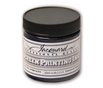 JACQUARD PROFESSIONAL SCREEN PRINTING INK 4OZ NAVY