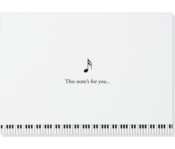 NOTECARD MUSIC
