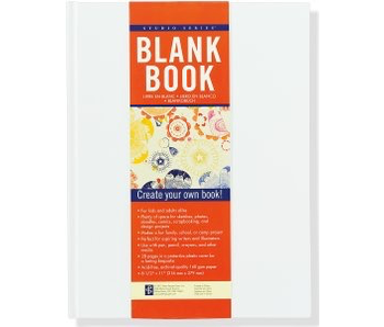 STUDIO BLANK BOOK WHITE