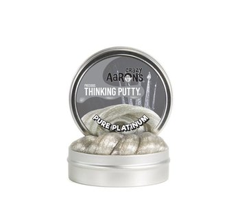 CRAZY AARON'S THINKING PUTTY PURE PLATINUM 3.5""
