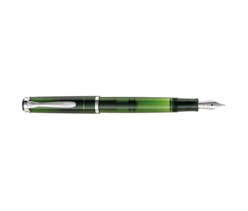 PELIKAN FOUNTAIN PEN M205 OLIVINE GIFT SET FINE