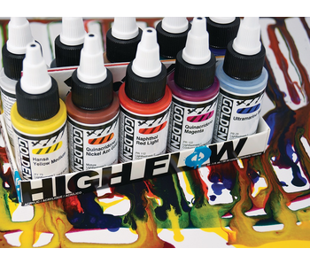 INTRO TO HIGH FLOW ACRYLICS: Sunday Afternoon