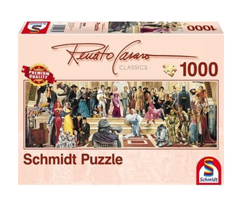 SCHMIDT PUZZLE 1000: 100 YEARS OF FILM PANORAMIC