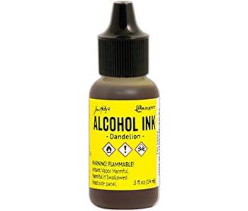 Ranger 1/2OZ Alcohol Ink Dandelion