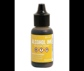 Ranger 1/2OZ Alcohol Ink Sunshine Yellow