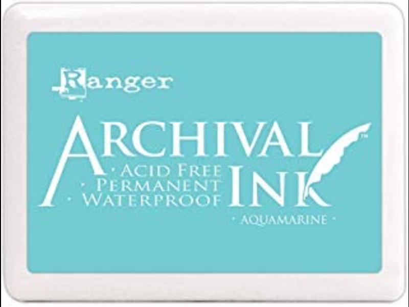 Ranger Archival Ink Pad Aquamarine