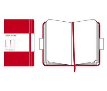 MOLESKINE LARGE HC PLAIN NOTEBOOK RED