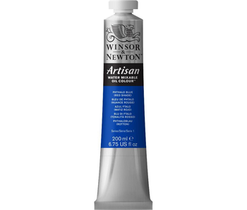 W&N ARTISAN OIL 200ML PHTHALO BLUE (Red Shade)
