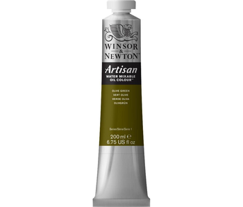 W&N ARTISAN OIL 200ML OLIVE GREEN