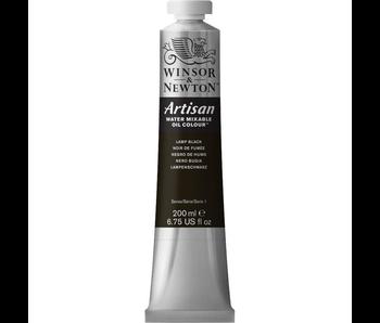 W&N ARTISAN OIL 200ML LAMP BLACK