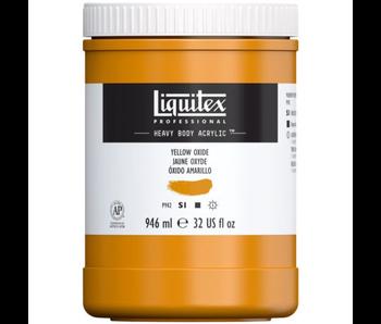 LIQUITEX HEAVY BODY 32OZ YELLOW OXIDE