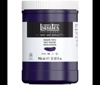 LIQUITEX HB 32OZ DIOXAZINE PURPLE