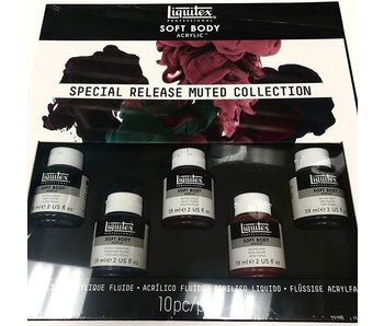LIQUITEX PROFFESSIONAL SOFT BODY ACRYLIC SPECIAL RELASE MUTED COLLECTION