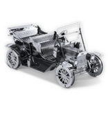 THINKPLAY METAL EARTH 3D MODEL SILVER: 1908 FORD MODEL T