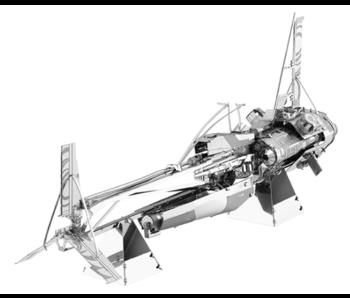 METAL EARTH 3D MODEL STEEL: STAR WARS SOLO - ENFY'S NEST SWOOP BIKE