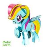 THINKPLAY METAL EARTH 3D MODEL: MY LITTLE PONY - RAINBOW DASH