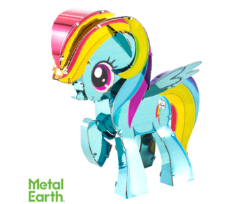METAL EARTH 3D MODEL: MY LITTLE PONY - RAINBOW DASH