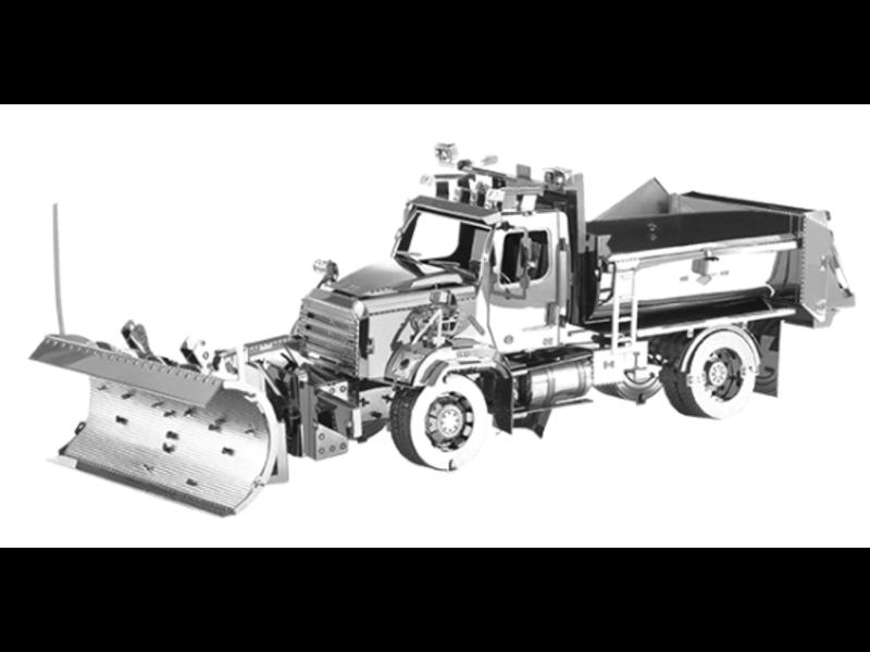 THINKPLAY METAL EARTH 3D MODEL: FREIGHTLINER 114SD SNOW PLOW