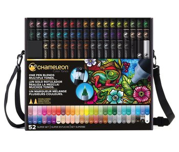 CHAMELEON BRUSH PEN SET 52PK SUPER SET
