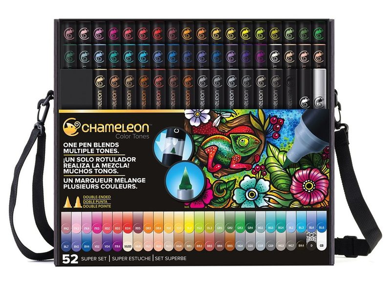 CHAMELEON CHAMELEON BRUSH PEN SET 52PK SUPER SET Bulk Buyer see notes