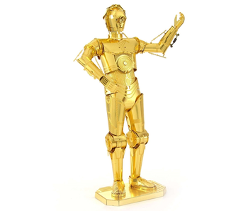 METAL EARTH 3D MODEL GOLD: STAR WARS C-3P0