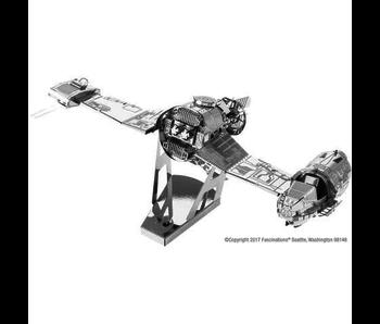 METAL EARTH 3D MODEL SILVER: STAR WARS RESISTANCE SKI SPEEDER