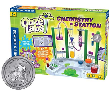 THAMES & KOSMOS OOZE LABS MIX YOUR OWN GLOW IN THE DARK SLIME