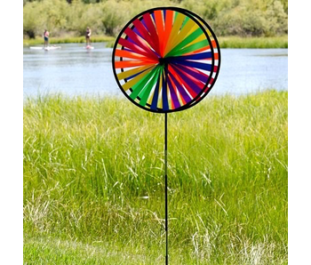 Rainbow Double Wheel Spinner