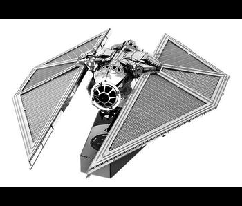 METAL EARTH 3D MODEL SILVER: STAR WARS TIE STRIKER