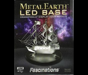 METAL EARTH LED BASE - BLUE LIGHT