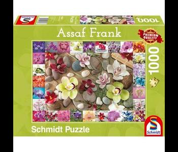 Schmidt Puzzle 1000 Orchids