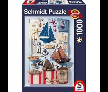Schmidt Puzzle: 1000 Maritime Potpourri