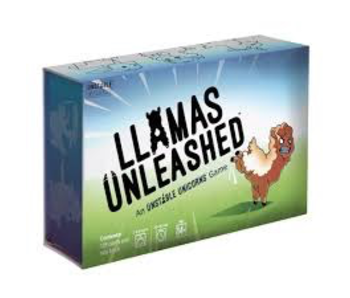 LLAMAS UNLEASHED: AN UNSTABLE UNICORNS GAME