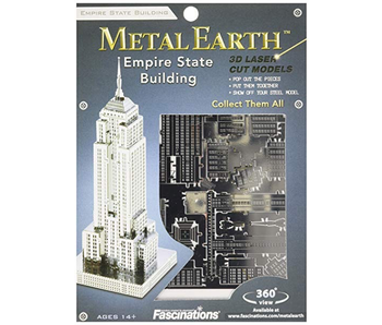 METAL EARTH 3D MODEL: EMPIRE STATE BUILDING