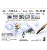 WATERCOLOUR LEARNING PAD PRINTS TO COPY