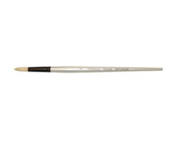SIMPLY SIMMONS SYNTHETIC BRUSH LH BRISTLE ROUND 8