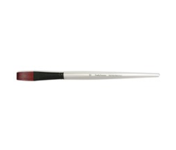 SIMPLY SIMMONS SYNTHETIC BRUSH LH STIFF FLAT 12