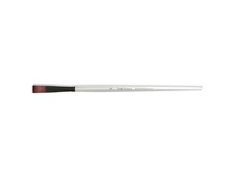 SIMPLY SIMMONS SYNTHETIC BRUSH LH STIFF FLAT 6