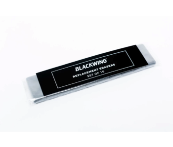 PALOMINO BLACKWING ERASER REFILLS WHITE 10PK