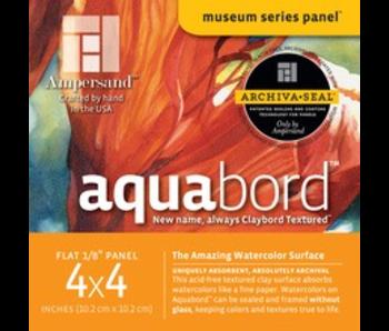 "AMPERSAND MUSEUM AQUABORD 1/8"" 4x4 4PK"