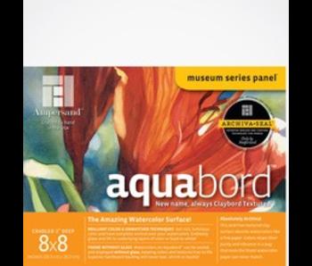 "AMPERSAND MUSEUM AQUABORD 2"" CRADLED 8x8"