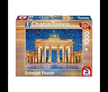 SCHMIDT PUZZLE 1000: BERLIN, CHARIS TSEVIS