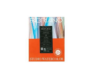 ABRIANNO WATERCOLOR PAPER 140LB HOT PRESS 8X10  12 SHEETS/PAD
