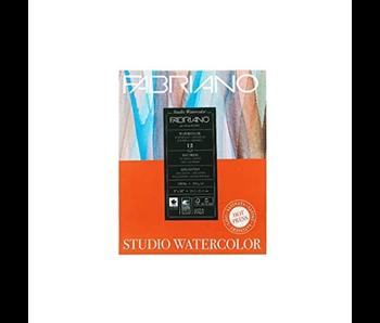 FABRIANO WATERCOLOR PAPER 140LB HOT PRESS 9X12  12 SHEETS/PAD