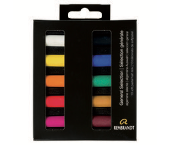 REMBRANDT SOFT PASTEL General Selection 10 Half Stick