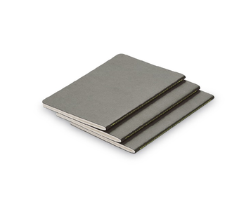 Lamy Notebook Booklet B5 Softcover A5 Grey Set/3