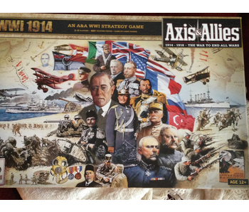 AXIS & ALLIES WWI STRATEGY GAME - 1914 (1914-1918: THE WAR TO END ALL WARS)